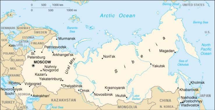 1up Travel Maps Of Russia Russia Maps