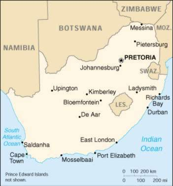 1Up Travel  Maps of South Africa South Africa Maps