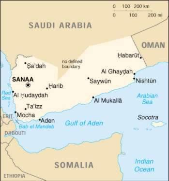1Up Travel Yemen Maps Cities Map Cities of Yemen